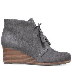 Dr. Scholl's Dakota Wedge Booties grey